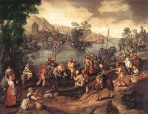 Joachim_Beuckelaer_-_The_Flight_into_Egypt_-_WGA02113