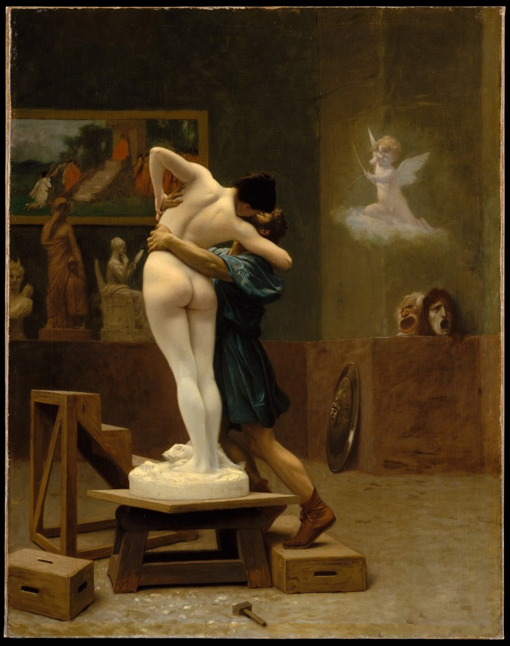 Pygmalion and Galatea Jean-Léon Gérôme (French, Vésoul 1824–1904 Paris)
