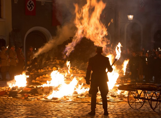 The Nazi book burning