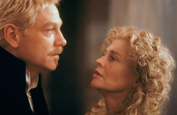 Kenneth Branagh as Hamlet and Julie Christie as Gertrude