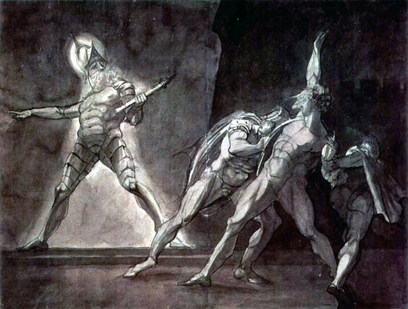 Horatio, Hamlet, and the Ghost (Henry Fuseli 1798)