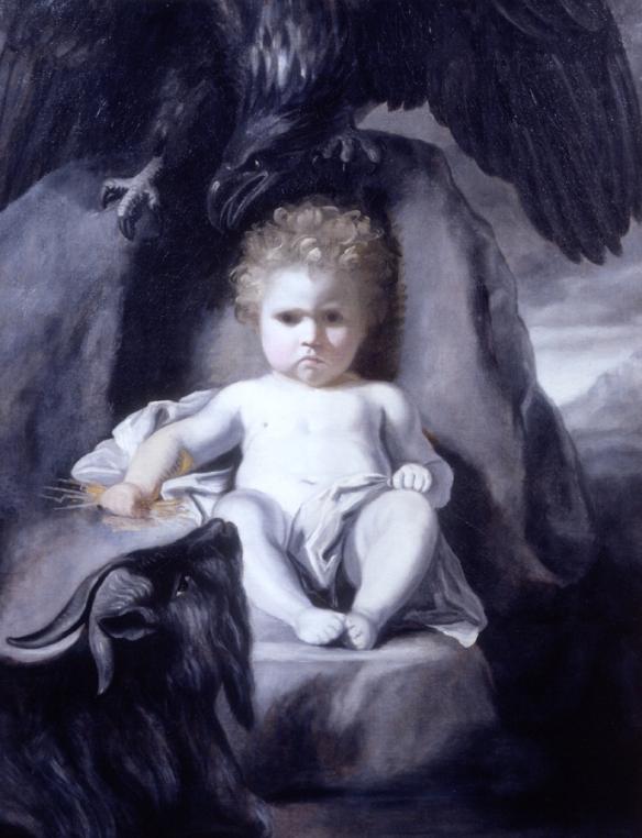the Infant Jupiter Joshua Reynolds