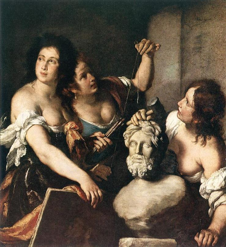 Allegory-of-Arts Strozzi