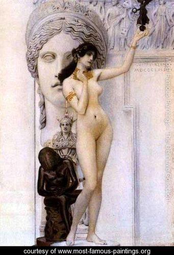 Allegory-of-Sculpture klimpt