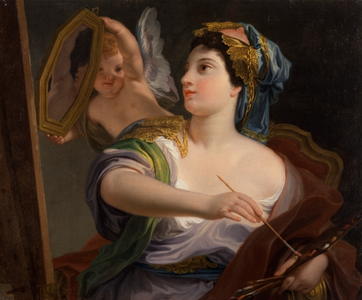 Domenico_Corvi_-_Allegory_of_Painting_-_Walters_371011