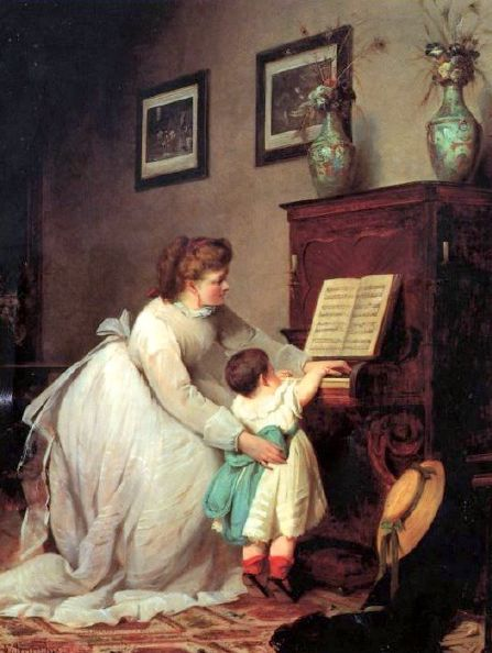 George Frederick Folingsby  The First Lesson