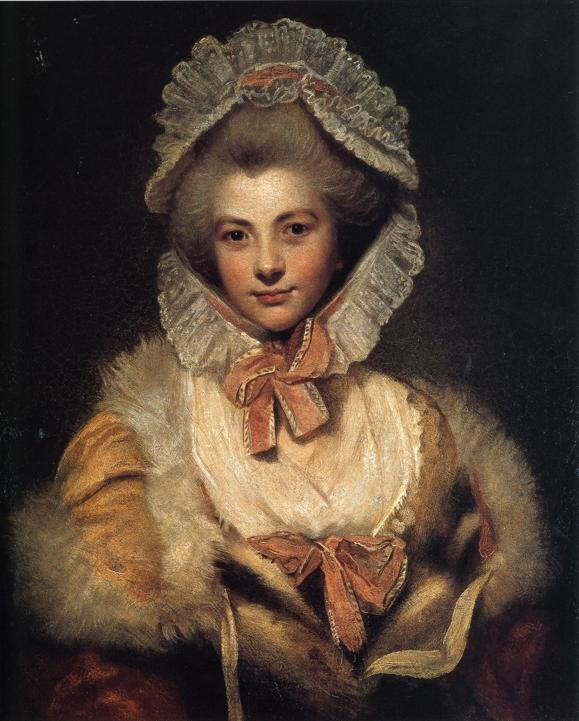 Lavinia Spencer by Sir Joshua Reynolds