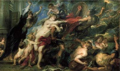 rubens-allegory of war