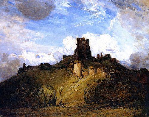 Sir-Arthur-Streeton-xx-Corfe-Castle-xx-National-Gallery-of-Victoria
