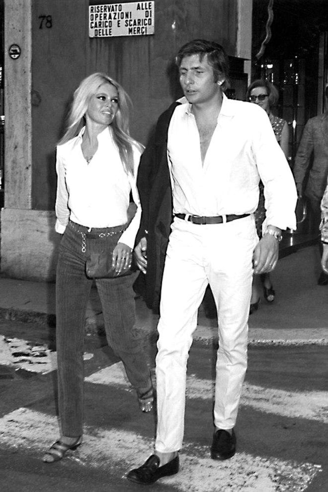 Serge and first muse: Brigitte Bardot