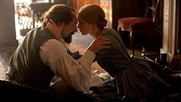 Ralph Fiennes as Dickens and Felicity Jones as Ellen Tiernan