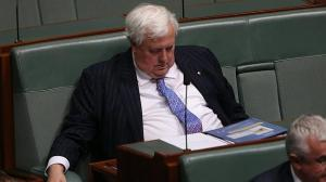 """Clive Palmer on Clerk of the Senate, Dr Latng:  """"if she's not up to the job she should resign"""