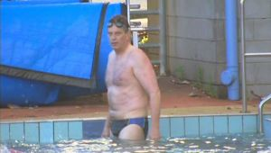 Brighton Iceberger Ted Baillieu has landed himself in hot (well perhaps only tepid) water