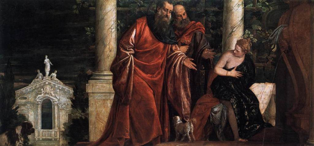 Susanna and the elders1588 Paulo Veronese