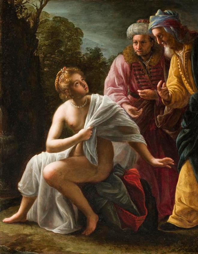 Susanna and the elders-Ottavio Mario Leoni