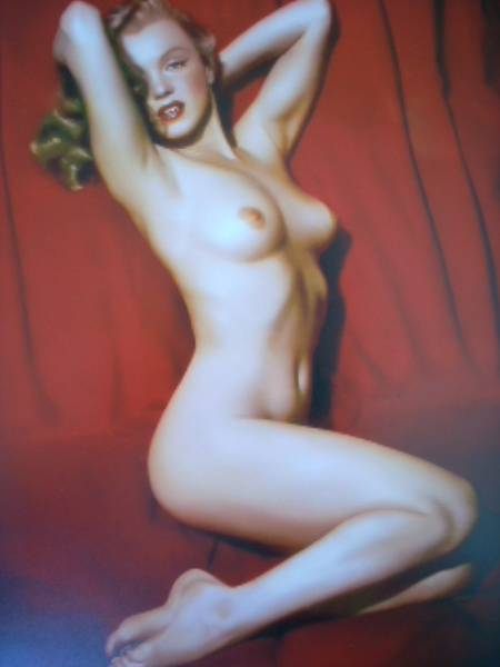 "Marilyn Monroe from her series entitled ""Red Velvet"""