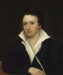 Percy Bysshe Shelley wrote Ozymandias when he was 25