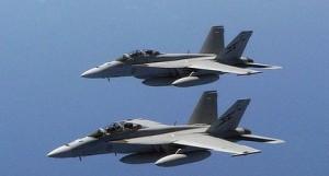 FA - 18 Super Hornets