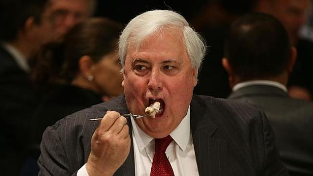 Clive Palmer: the dinner not the diner on the Direct Action legislation