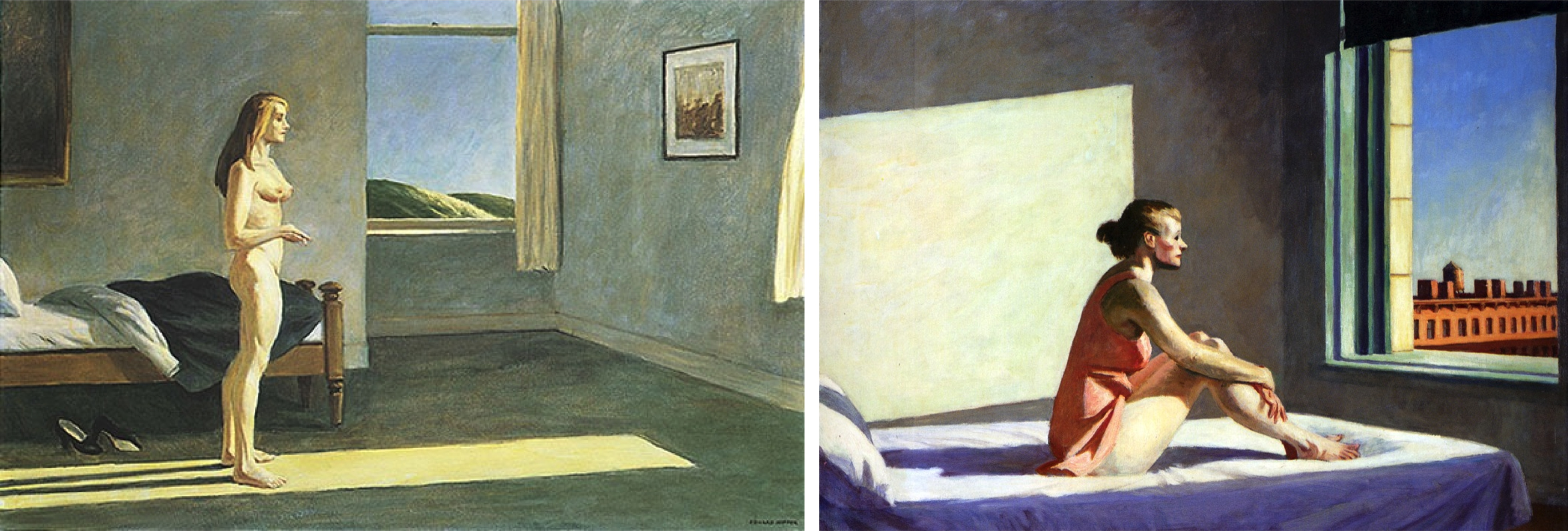 Hopper s sunlight paintings ideal forms and shadows tim for Sunlight windows