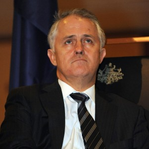Malcolm Turnbull tried to think of ways to defend Tony Abbott's broken promises