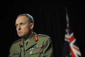 Australia's Chief-of-Army David Morrison