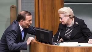 People would be justified in thinking that Speaker Bronwyn Bishop takes instructions from Prime Minister Tony Abbott rather than acting as an impartial Speaker should