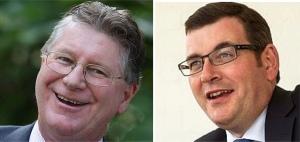 Dan and Den: as  politically distinguishable as Tweedledum and Tweedledee