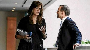 Peta Credlin  will need to keep a firm grip on Abbott in 2015