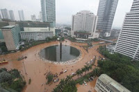 banjir bundaran HI