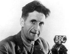 George Orwell, author of 1984