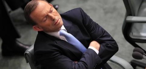 Tony Abbott: asleep at the wheel on women's  political concerns
