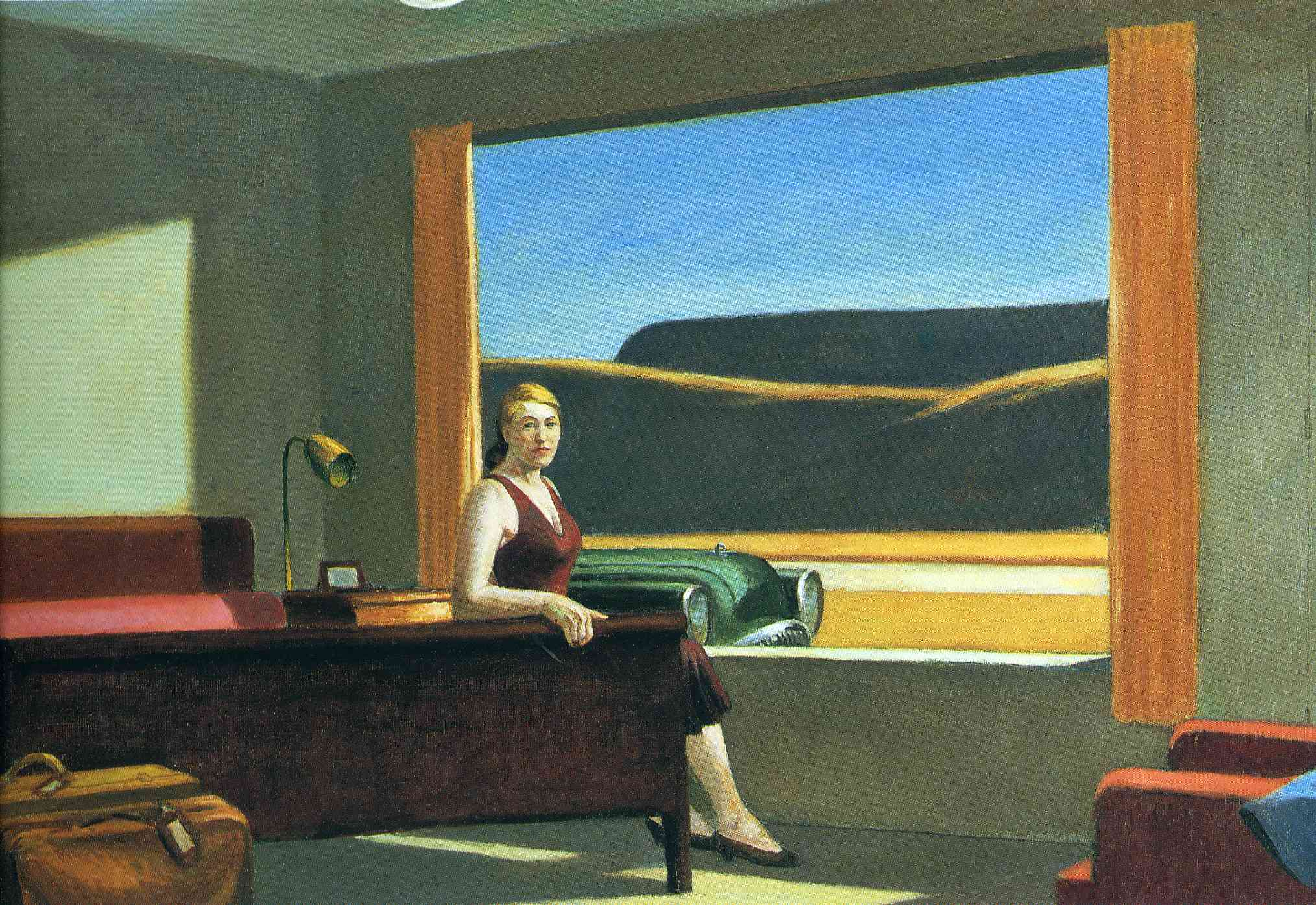 Edward hopper urban spaces interior landscapes tim haslett 39 s blog - Edward hopper maison ...