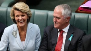 Abbott,  Turnbull and Bishop: keep your friends close, but keep your enemies closer