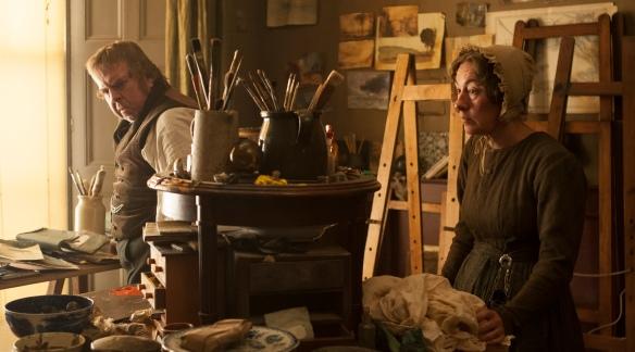 Turner and his housekeeper Hannah Danby