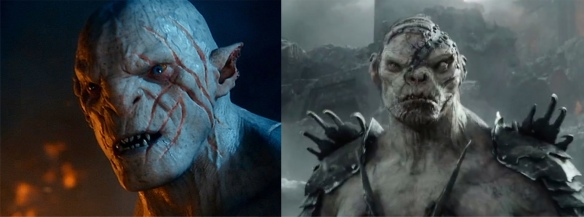 Azog and Bolg: a couple of real charmers