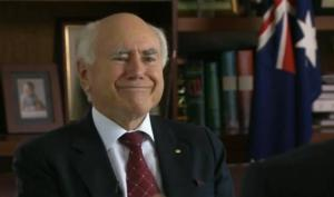 John Howard keeping a stiff upper lip over Knighthood.