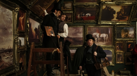 Turner at the Royal Academy exhibition