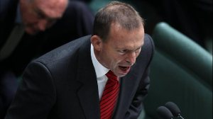 Tony Abbott has a few things to say about Jillian Triggs