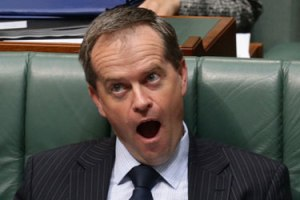 Bill Shorten: all mouth and no trousers