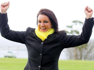 Jacqui Lambie probably expects people to come flocking  to join her political party.