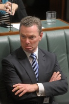 Christopher Pyne: at danger of losing his seat if Nick Xenophon  preferences labour