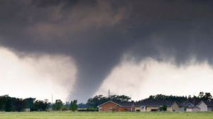 Tornadoes in Texas (actually it was Kansas but I thought Dorothy and Toto would just confuse everybody)