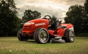 Honda U.K. Builds 130-mph Ride-On Lawn Tractor