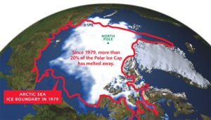 The melting of the Arctic ice has pushed many with systems to a critical point