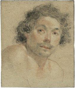 Bust Portrait of a Young Man (Self-portrait?)