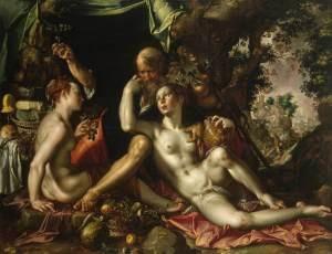 Joachim Woetwel: Lot and His Daughters