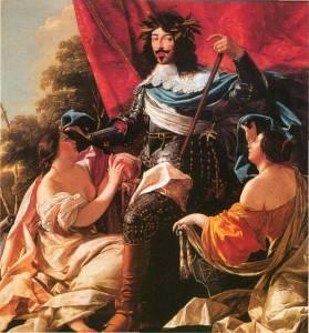 Vouet  portrait of Louis XIII