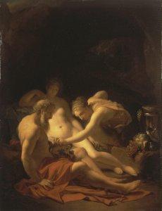 Lot and his Daughters by Adriaen Van Der Werff