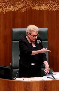 Speaker Bronwyn Bishop: good at making sure everybody else follows the rules